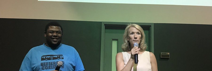 Leaders at Transportation Town Hall Urge Investment In Public Transit